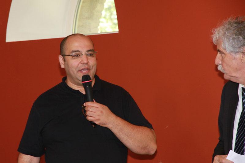 Aziz MEBARKI, directeur de la publication et de la rédaction du mensuel L'ESTRADE